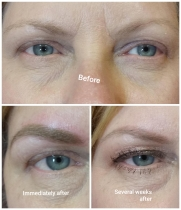 Micropigmentation powder brows
