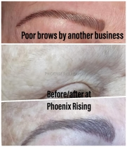 Microblading examples